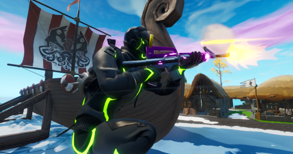 Deal Damage at Viking Village or Lonely Lodge
