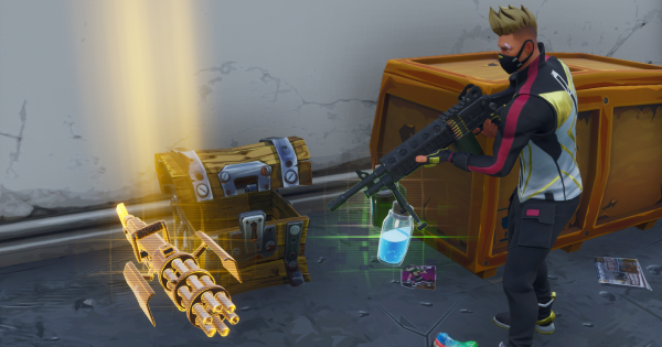 Pick Up 3 Legendary Items in a Single Match