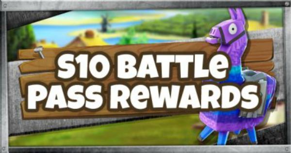 Battle Pass Reward List