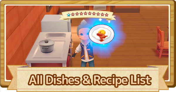 All Dishes List