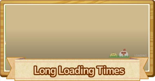 Long Load Times