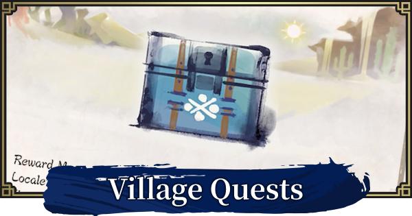 Village Quests List - Multiplayer Mode?