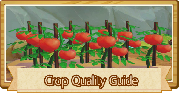 Crop Quality