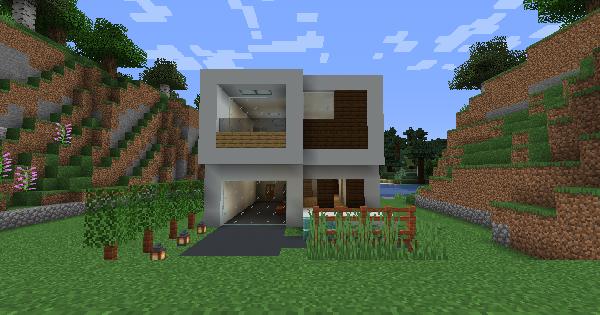 Modern House (Mc Puzon) - Blueprint & How To Build