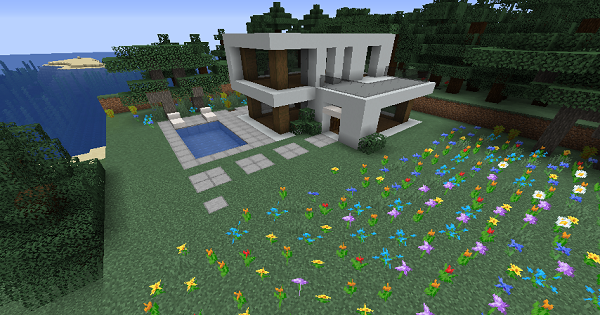 Modern House (Mithers) - Blueprint & How To Build