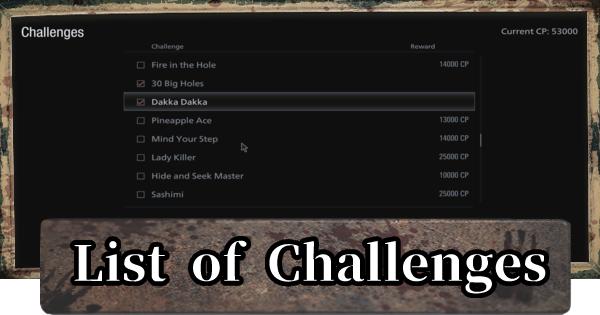 Challenges & Rewards