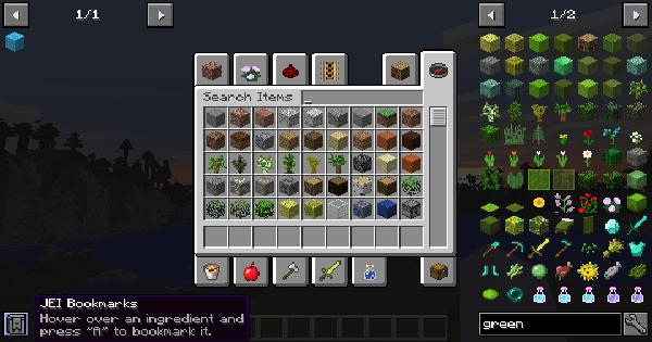 Just Enough Items (JEI) - Mod Details