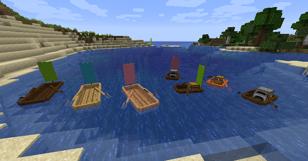 Extra Boats - Mod Details