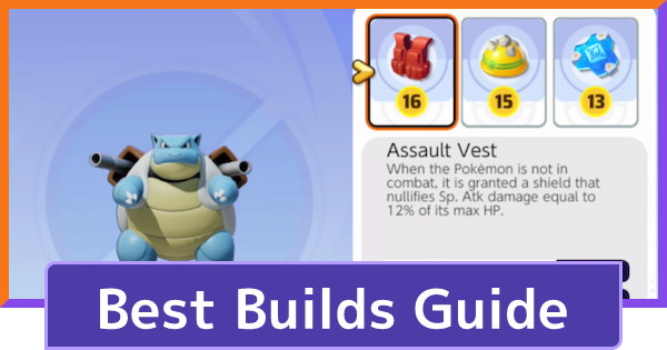 Best Builds Guide - Recommended Items & Moves