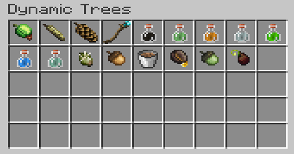 Dynamic Trees - Potions & Mod Details