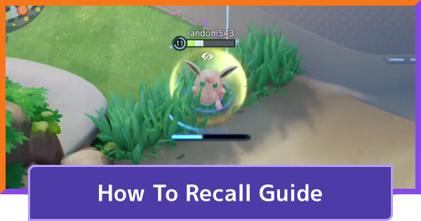 How To Recall / Return To Base