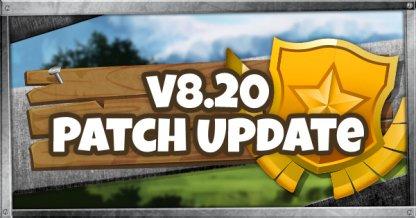Fortnite v8.20 Patch Update