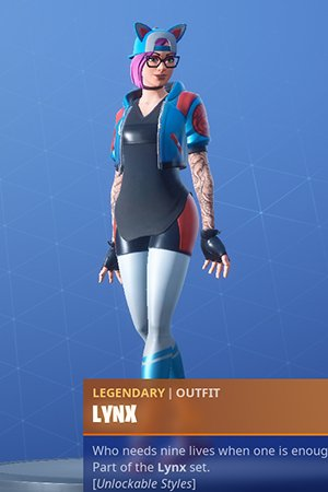 Skin Outfit LYNX