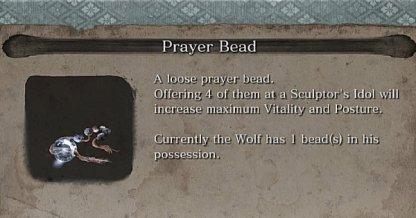 Prayer Bead Locations