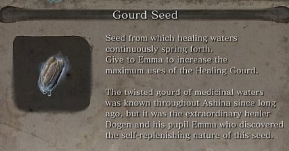 Gourd Seed Locations