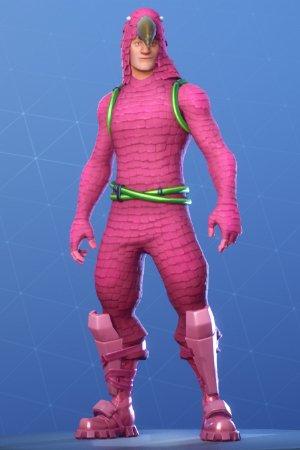Skin Outfit KING FLAMINGO