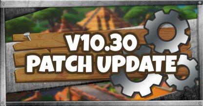 10.30 Patch Update