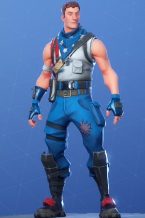 Skin Outfit STARS-SPANGLED TROOPER