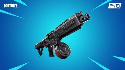 New Weapon: Drum Shotgun