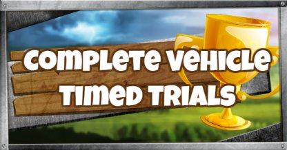 Fortnite Battle Royale Season 6 Week 10 Challenge Complete Vehicle Timed Trials