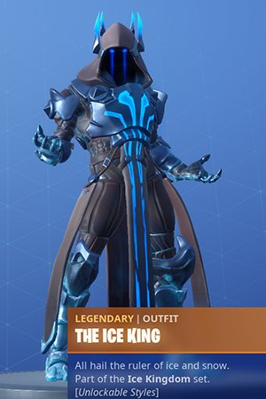 Skin Outfit THE ICE KING