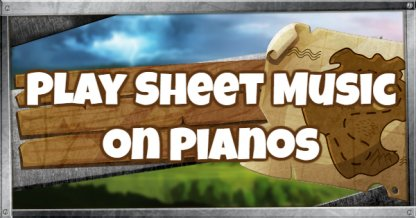 Play the Sheet Music on Pianos Challenge Guide