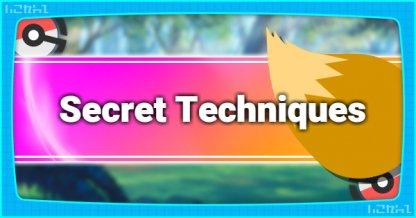 Secret Technique List