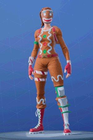 Skin Outfit GINGER GUNNER