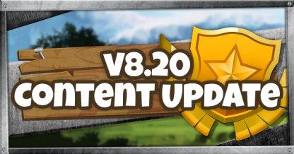 Fortnite v8.20 Content Update